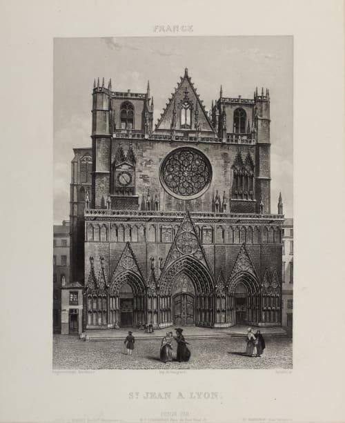 St. Jean a Lyon Lerebours, Noël Paymal  (French, 1807-1873)