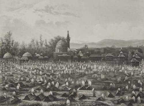 Syrie Cimetiére des Musulmans A Damas Lerebours, Noël Paymal  (1807-1873)