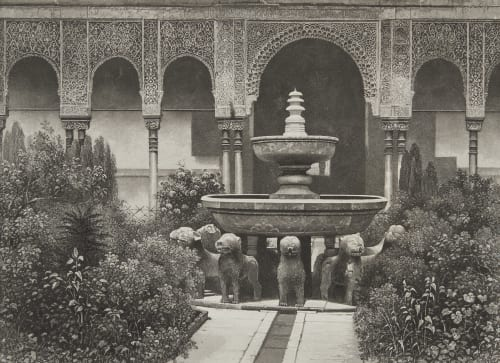Espagne Alhambra Lerebours, Noël Paymal  (1807-1873)