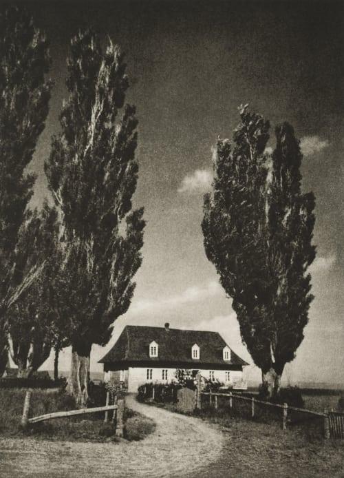 The Sentinels Fassbender, Adolph  (German, 1884-1980)