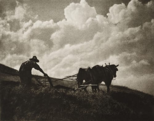 The Last Furrow Fassbender, Adolph  (German, 1884-1980)