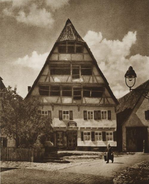 Hayloft Fassbender, Adolph  (German, 1884-1980)