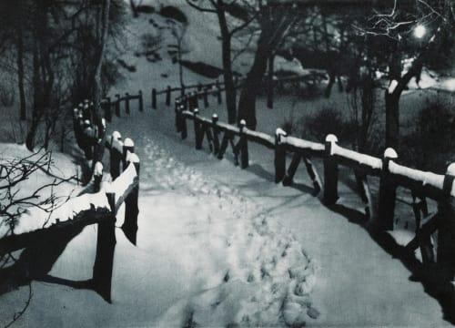 Snow Caps Fassbender, Adolph  (German, 1884-1980)