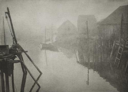 Fishermen's Menace Fassbender, Adolph  (German, 1884-1980)