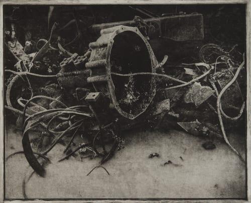Trash Frozen Faure, Hendrik 1951  (b.German)