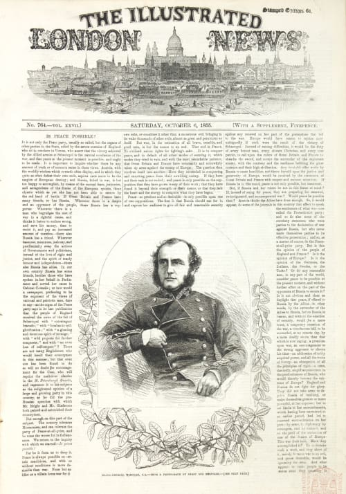 General Bosquet – From The Exhibition of Photographic Pictures Taken in the Crimea Fenton, Roger  (British, 1819-1869)
