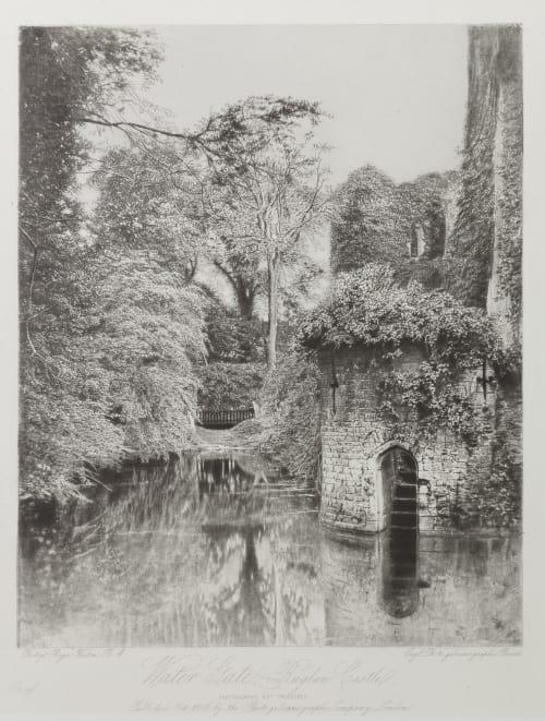 Water Gate, Raglan Castle Fenton, Roger  (British, 1819-1869)