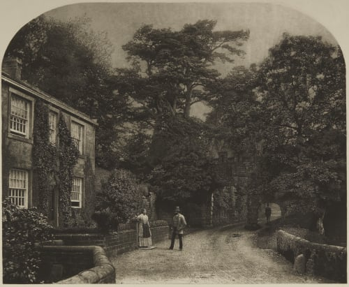 Into the Woods at Bolton Abbey Fenton, Roger  (British, 1819-1869)