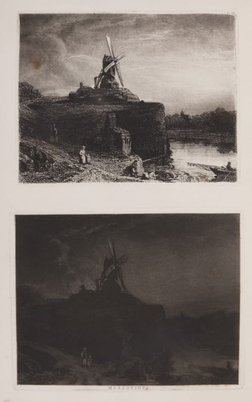 Mezzotint Fielding, Theodore Henry Adolphus  (British, 1781-1851)