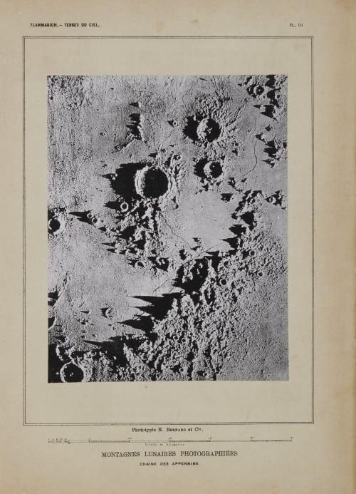 Montagens Lunaires Photographés Nasmyth, James  (Scottish, 1801-1890)