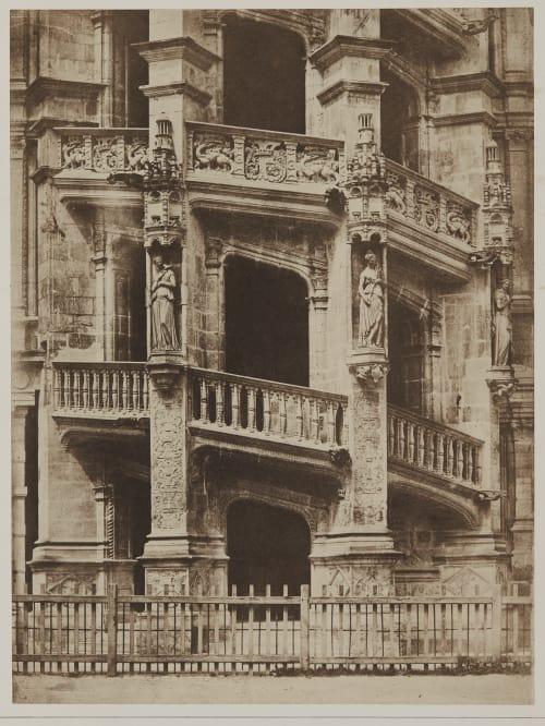 Escalier de Chateau de Blois Fortier, Alphonse  (French, 1825-1882)