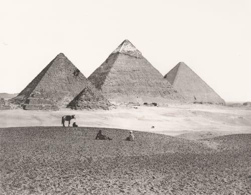 The Great Pyramids at El Giza Frith, Francis  (British, 1822-1898)