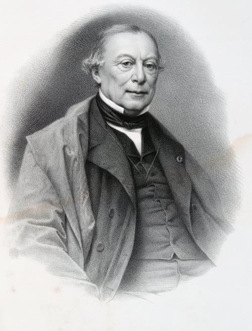 Hélie Petit, Pierre 1814-1888  (b.French)