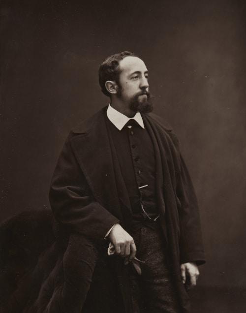 Jules Claretie Carjat, Etienne  (French, 1828-1906)