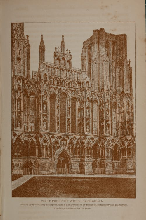 West Front of Wells Cathedral Bedford, Francis  (British, 1816-1894)