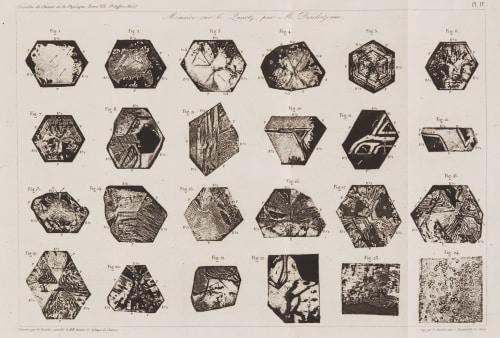 Mémoire sur le Quartz , par M. Deseloizeaux Des Cloizeaux. Alfred  (French, 1817-1897)