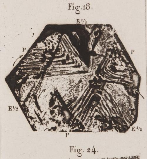 Mémoire sur le Quartz , par M. Deseloizeaux  (detail) Des Cloizeaux. Alfred  (French, 1817-1897)