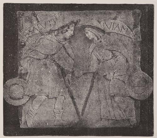 Chemin du salut, frise, par Luca della Robbia Unknown