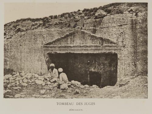 Tombeau Des Juges – Jerusalem Geoffray, Stephane  (French, 1827-1895)