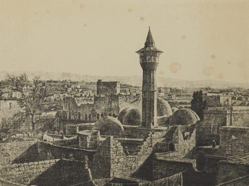 Bayrouth. Syrie Geoffray, Stephane  (French, 1827-1895)