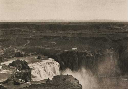 Shoshone Falls from the North Fisher, Albert Kenrick  (American, 1856-1948)