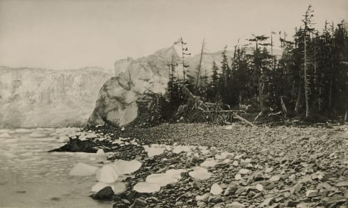 Columbia Glacier at Contact with Island Curtis, Edward Sherrif  (American, 1868-1952)
