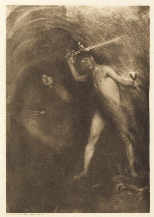 Plate XVIII Hanscom, Adelaide  (American, 1876-1932)