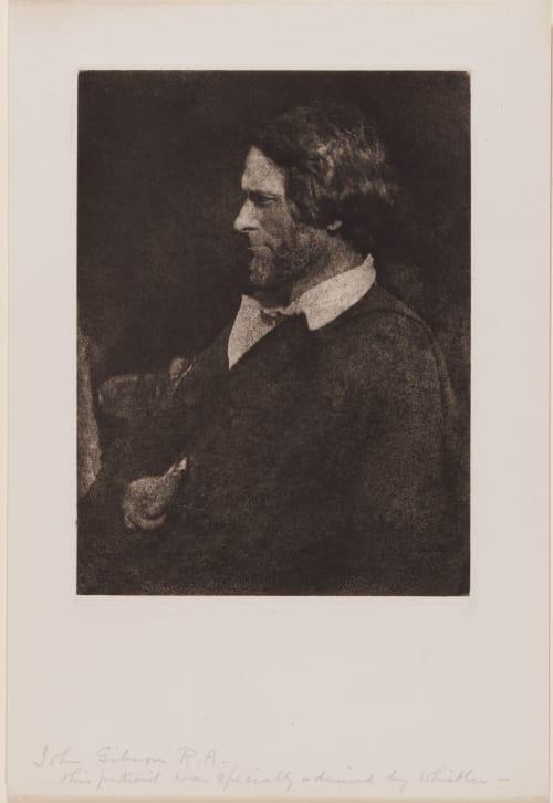 John Gibons R.A. (handwritten on sheet) Hill, David Octavious  (Scottish, 1802-1870)Adamson, Robert  (Scottish, 1821-1848)