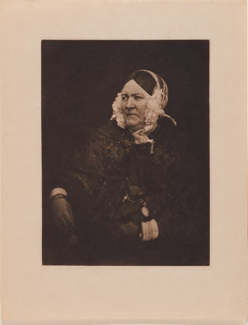 Old Lady with Eyeglasses Hill, David Octavious  (Scottish, 1802-1870)Adamson, Robert  (Scottish, 1821-1848)