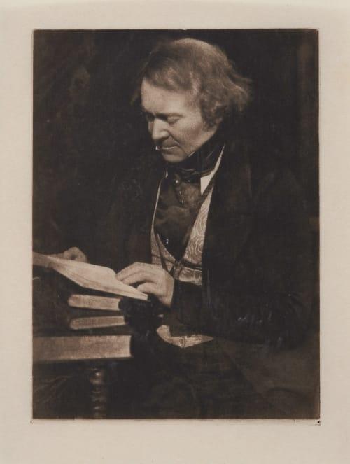 "Mr. Rintoul, Editor ""Spectator"" Hill, David Octavious  (Scottish, 1802-1870)Adamson, Robert  (Scottish, 1821-1848)"