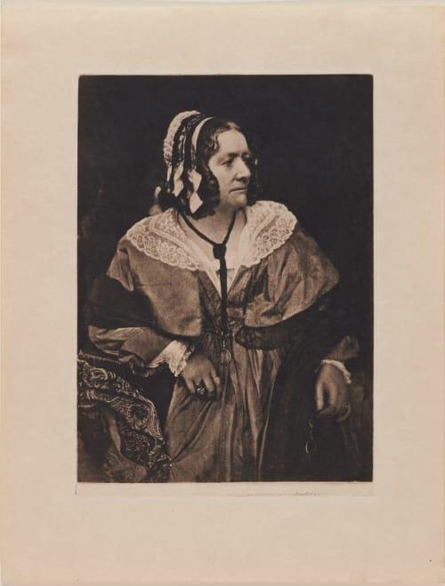Portrait – The Gown and the Caske Hill, David Octavious  (Scottish, 1802-1870)Adamson, Robert  (Scottish, 1821-1848)