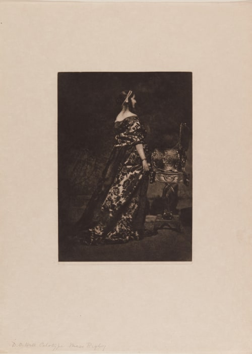Miss Rigby (handwritten on sheet) Hill, David Octavious  (Scottish, 1802-1870)Adamson, Robert  (Scottish, 1821-1848)