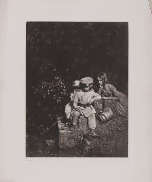 The Minnow Pool (handwritten on sheet) Hill, David Octavious  (Scottish, 1802-1870)Adamson, Robert  (Scottish, 1821-1848)
