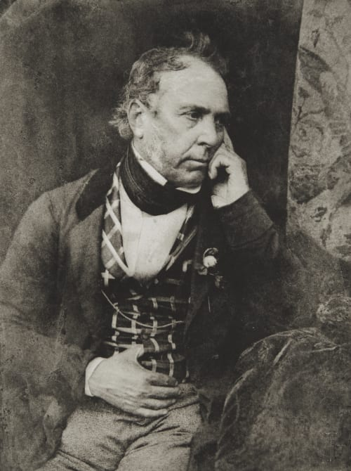 Colonel James Glencarin Burns Hill, David Octavious  (Scottish, 1802-1870)Adamson, Robert  (Scottish, 1821-1848)