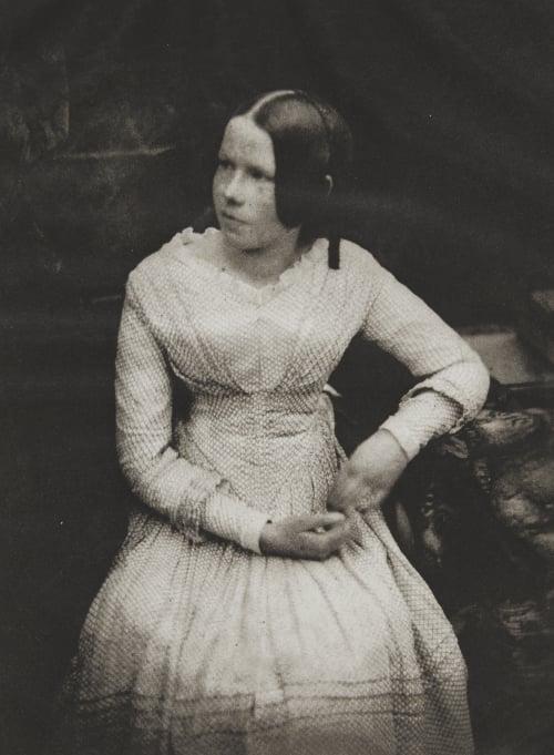 Miss Ellen Milne Hill, David Octavious  (Scottish, 1802-1870)Adamson, Robert  (Scottish, 1821-1848)