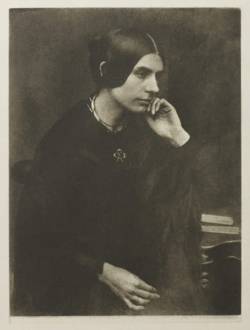 Lady in a Black Dress Hill, David Octavious  (Scottish, 1802-1870)Adamson, Robert  (Scottish, 1821-1848)