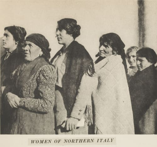 Women of Northern Italy Hine, Lewis  (American, 1874-1940)