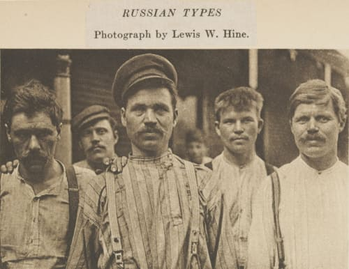 Russian Types Hine, Lewis  (American, 1874-1940)