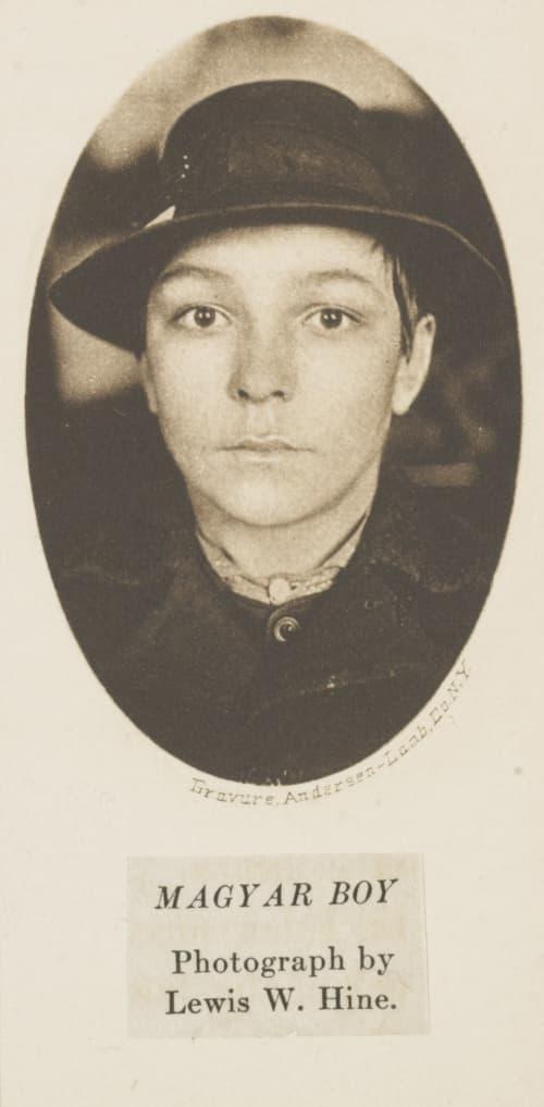 Magyar Boy Hine, Lewis  (American, 1874-1940)