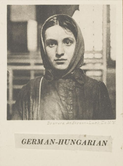 German-Hungarian Hine, Lewis  (American, 1874-1940)
