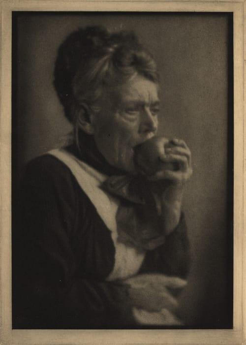 Sophy and the Apple Hoppe, E.O.  (German, 1878-1972)