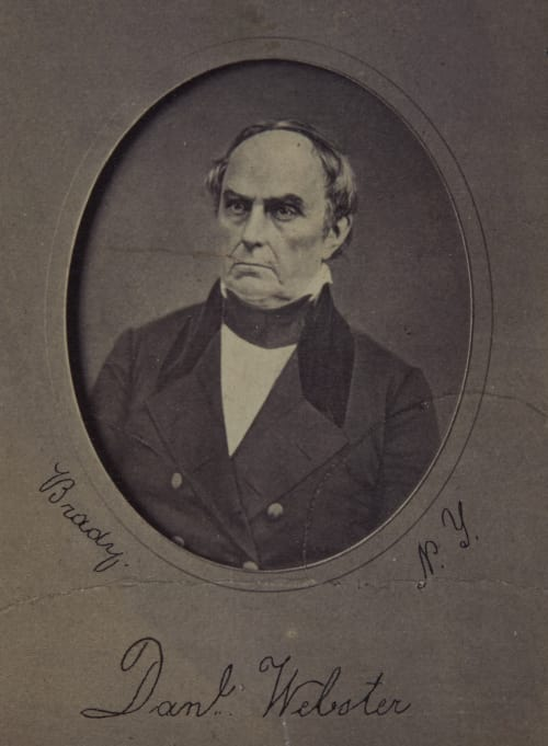 Danl. Webster Brady, Matthew B  (American, 1822-1896)
