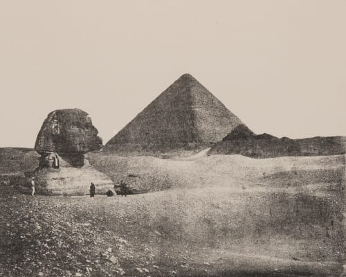 Plate I. The Great Pyramid and Sphynx James, Sir Henry