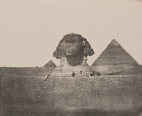 Plate II. The Sphynx an the Second Pyramid James, Sir Henry