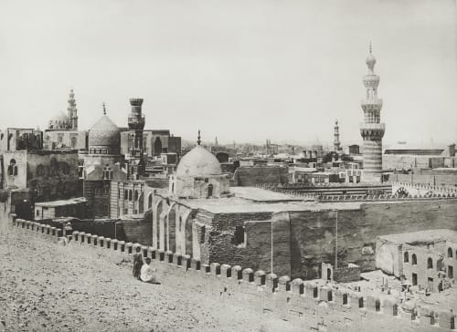 General View of Cairo Junghaendel, R. M.  (German, 1888–1898)
