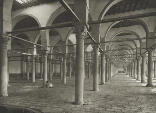Amr Mosque at Old Cairo Junghaendel, R. M.  (German, 1888–1898)