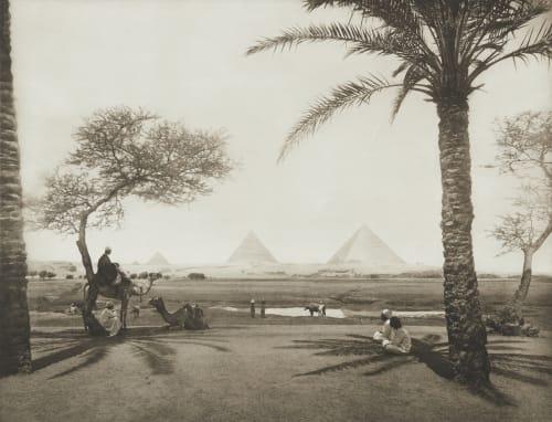 Pyramids at Gizeh Junghaendel, R. M.  (German, 1888–1898)