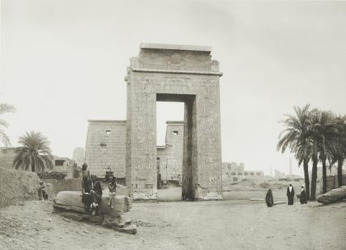Temple of Khonsu at Karnak Junghaendel, R. M.  (German, 1888–1898)