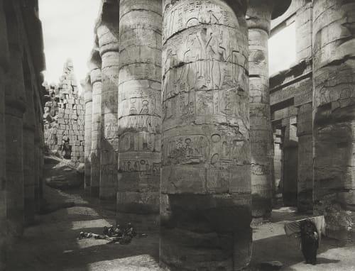 Great Temple at Karnak Junghaendel, R. M.  (German, 1888–1898)