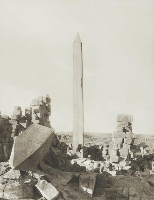 Great Obelisk at Karnak Junghaendel, R. M.  (German, 1888–1898)
